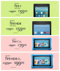 amazon kindle fire 10 inch tablet black friday sale here are all back to deals on amazon fire and kindle devices