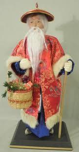 haji firooz doll amu nowruz grabbing his beard nowruz