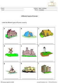 Different Styles Of Homes Primaryleap Co Uk What Type Of Home Is It Worksheet