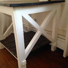 X Side Table Cottage Chic X Side Table Forget Them Not Home Decor