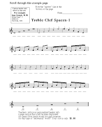treble clef notes worksheet free worksheets library download and