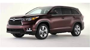 latest toyota latest car 2016 toyota highlander youtube