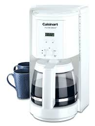 Cuisinart Coffee Makers 12 Cup Filter Cup Programmable Coffeemaker