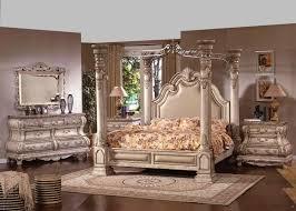 bedroom romantic bedroom design with rustic cream wooden bed frame