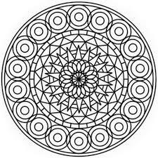 abstract mandala coloring free printable coloring pages