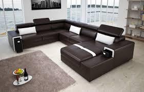 canapé cuir en u canapés design faites entrer le luxe dans votre salon