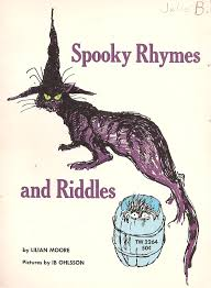 halloween party rhymes the haunted closet spooky rhymes and riddles lilian moore 1972