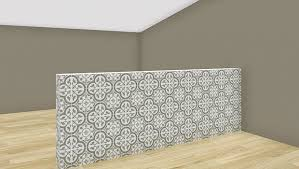 How To Build A Dividing Wall In A Room - how to create half walls in roomsketcher roomsketcher blog