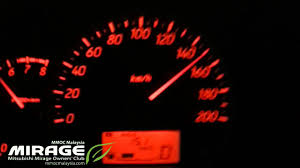 new mitsubishi mirage 1 2 gs 12 180km h top speed testing in kl