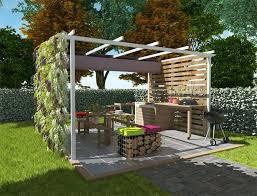 plan cuisine exterieure d ete cuisine d ete exterieur cuisine ete avec four a bois et plan de