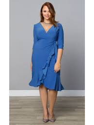 kiyonna plus size evening cocktail and lace dresses at