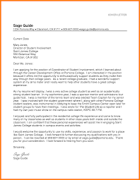Cover Letter Guide Cover Letter Samples For College Students Topic Essay Examples