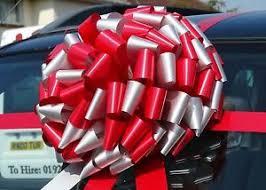 big bow for car present big car bike bow large present gift superfast