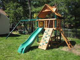 Playground Flooring Lowes by Exterior Enchanting Landscape Design With Appealing Wood Gorilla
