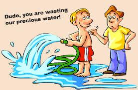 water conservation kids fun superstition