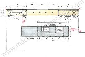 plan cuisines plans cuisines plan cuisine avec ilot central elevation