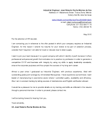 30 cover letter for process engineer cover letter of engineering