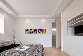 Bedroom Zen Design Flat White Ceiling With Spotlights Home Reno Details Pinterest