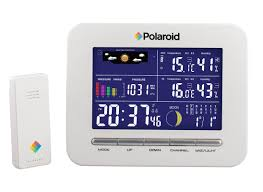 polaroid wireless weather station clock u0026 reviews wayfair