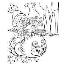 trolls coloring sheets for kids coloring pages for kids on