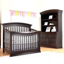 Nursery Crib Furniture Sets Crib And Dresser Set 3 Set Crib Dresser And Hutch In