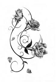 how to draw a rose tattoo roadrunnersae