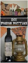 halloween wine bottle labels diy poison bottles easy halloween mantle eclectic momsense