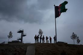 Taliban Flag Fight To Oust Taliban Set To Get Tougher As Afghan Funding Drops