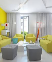 What Color Curtains Go With Yellow Walls Yellow And Black Living Room Ideas Glass Round Table Glass Pendant