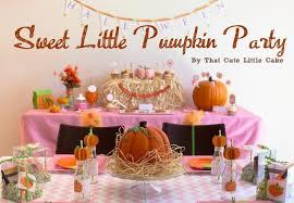 kara s ideas sweet pumpkin themed birthday