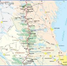 mileage map appalachian trail mileage map archives map travel