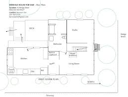 Scale Floor Plan Deer Isle House For Sale Deer Isle Maine Floor Plans