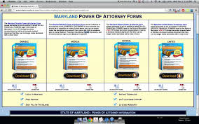 Utah Durable Power Of Attorney by Power Of Attorney Form Maryland Youtube