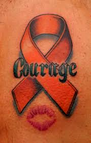 my very first tattoo multiple sclerosis ribbon multiple