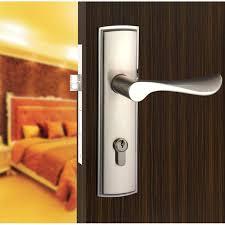 Door Handles For Bedrooms Bathroom Door Locked Help New Aluminum Material Interior Door Lock