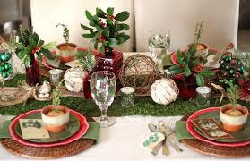 Christmas Tabletop Decoration by Rustic Woodland Christmas Tabletop Celebrations At Home