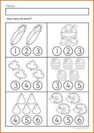 math worksheets u0026 activities autumn beginning skills count