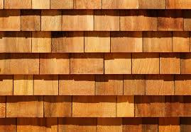 cedar wood wall western cedar wood shingles as wall siding stock image image
