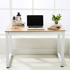 Wood Computer Desks For Home Office Wood Computer Desk Pc Laptop Table Workstation Office Home Study