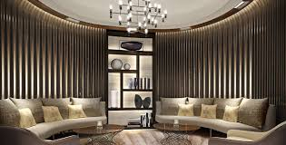Best Interior Designers In India by Lodha World One Sales Gallery In Mumbai India Designed By Studio