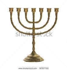 vintage menorah hanukkah menorah vector stock vector 537034141