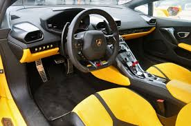 lamborghini inside lamborghini huracan 2015 makes quick spin in a fraction of a