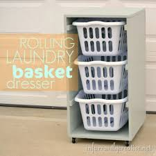 Laundry Room Basket Storage 30 Brilliant Ways To Organize And Add Storage To Laundry Rooms