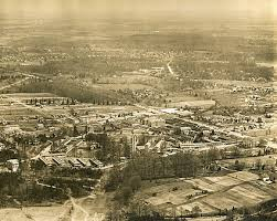 aerial view of walter reed army hospital 1920 photo print for sale