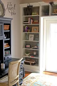 diy bookcase built ins