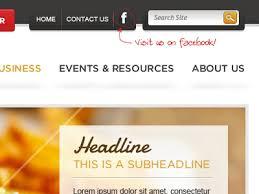 design header paper tiny headers and website navigation bars design tickle