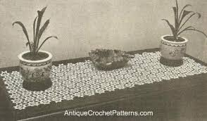 free crochet patterns for home decor runner free crochet pattern