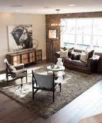 canapé cuir et bois rustique 1001 conseils et idées pour aménager un salon rustique salons