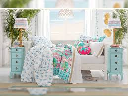 pottery barn photos lilly pulitzer pottery barn launch home decor line featuring