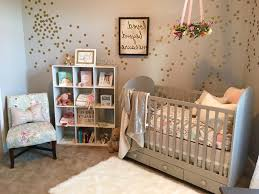 Vintage Floral Crib Bedding Baby Room Ideas Not Pink Beige Swivel Chair With Ottoman
